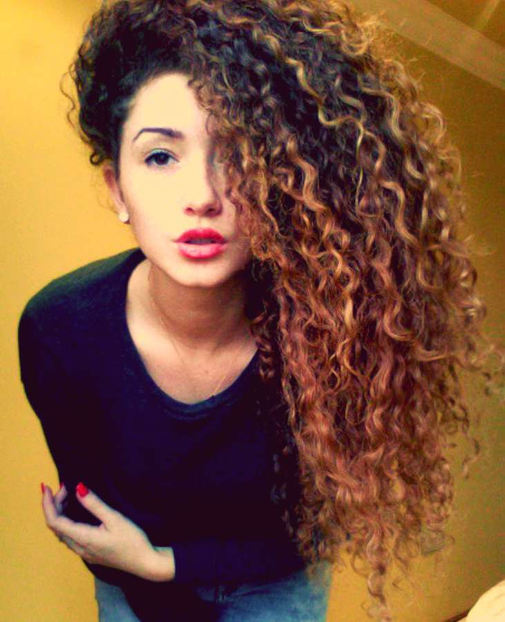 2015 Curly Hairstyles Fashion and Women