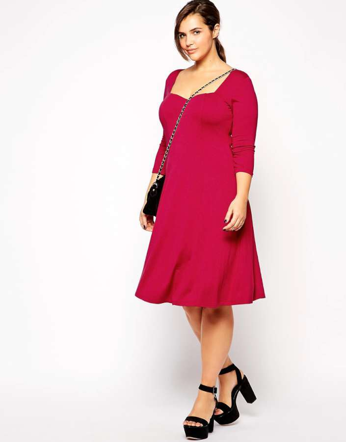 Plus Size Dresses In Pink Cheap Party Dresses