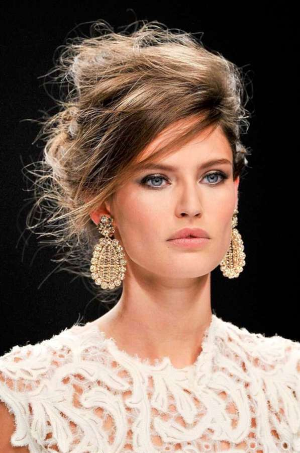 Beautiful Messy Hairstyle : Gallery for gt messy updo hairstyles