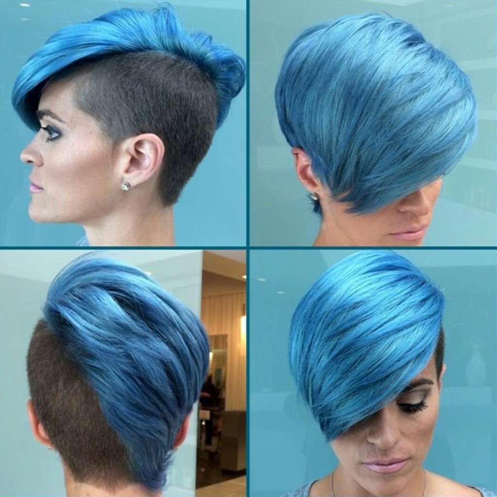 Короткие волосы цвета прически