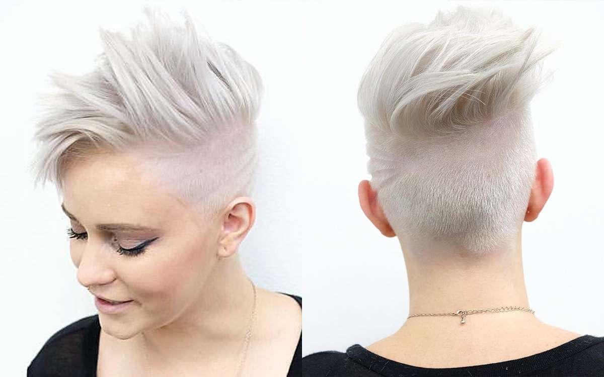 Short Hairstyles White Hair