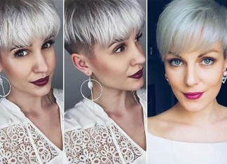 Short Hairstyle Grey 2016