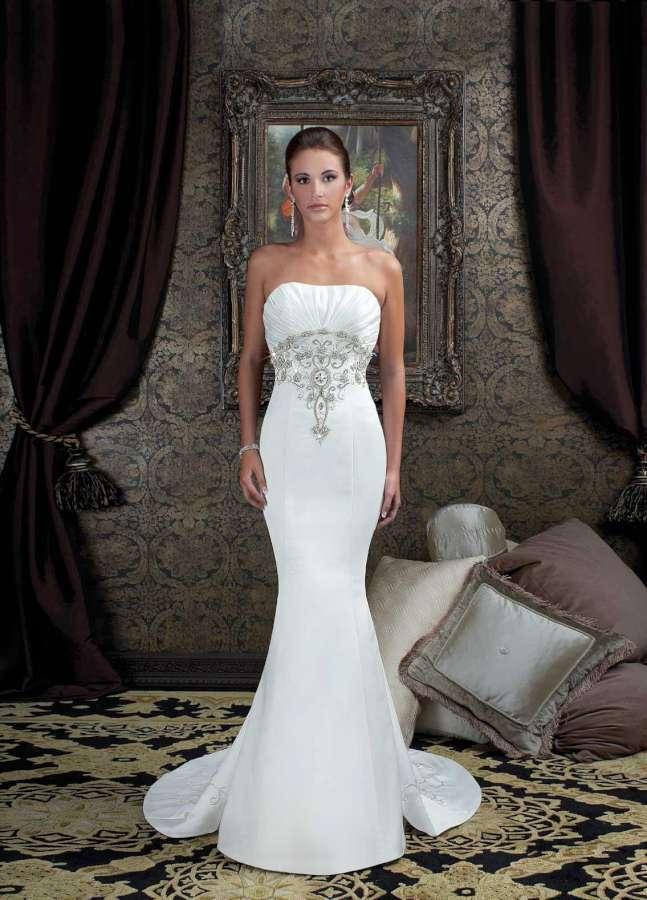 2015 Fishtail Dress - White