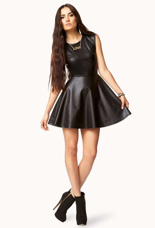 2015 Leather Dresses