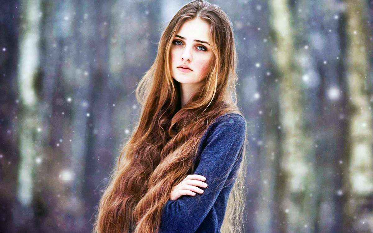 Long Hair Models  Fashion and Women