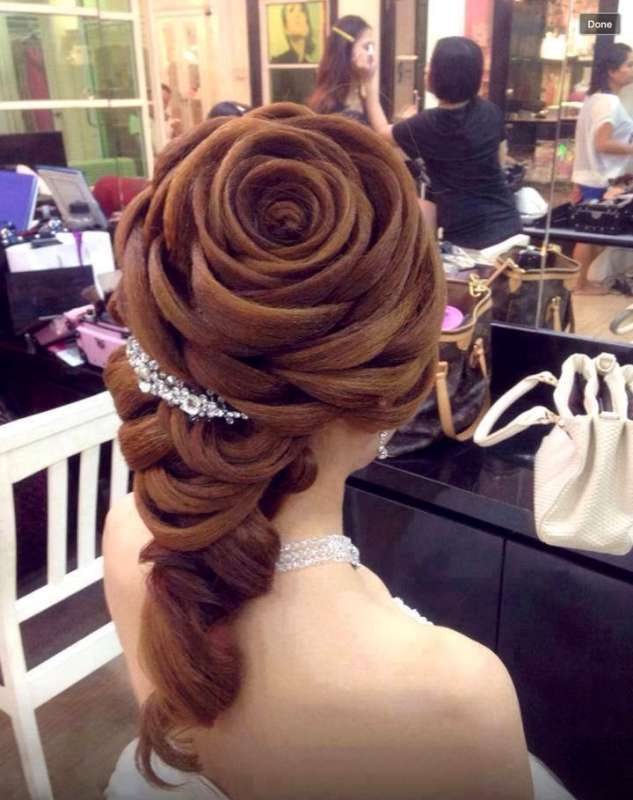 Wedding Extravagant Hairstyles Fashion And Women