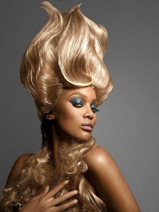 Yellow Extravagant Hairstyles Fashion And Women