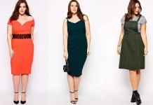 2015 Plus size Dress Models
