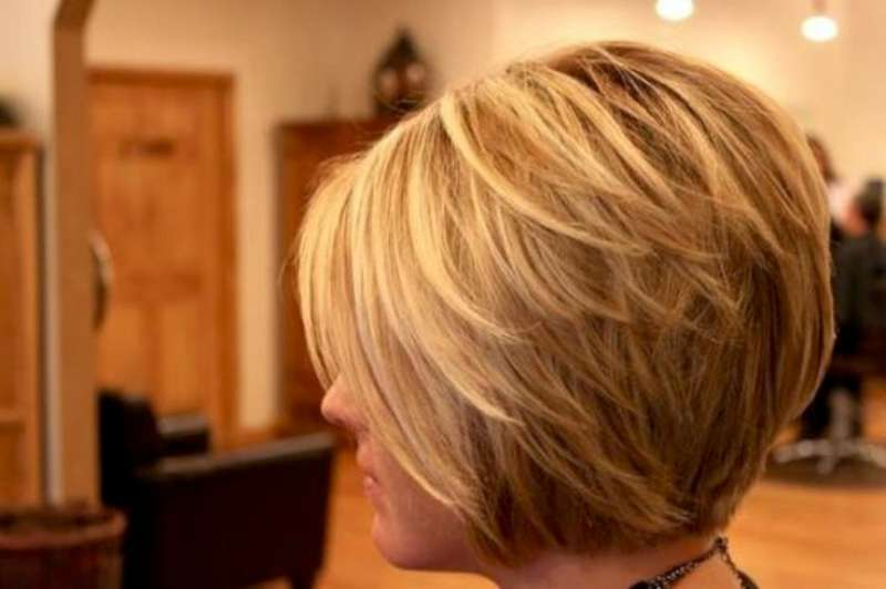 Short Layered Bob Hairstyles 2015