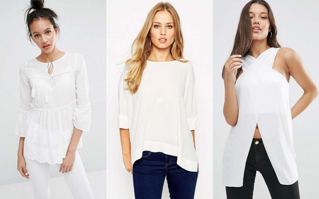 White Shirt Models 2016