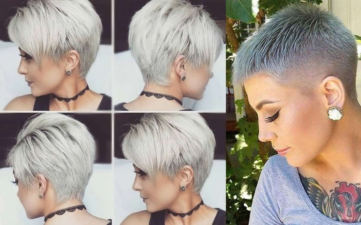 Short Hairstyles And Cuts 2017 Fashion Women Best For Fine Hair