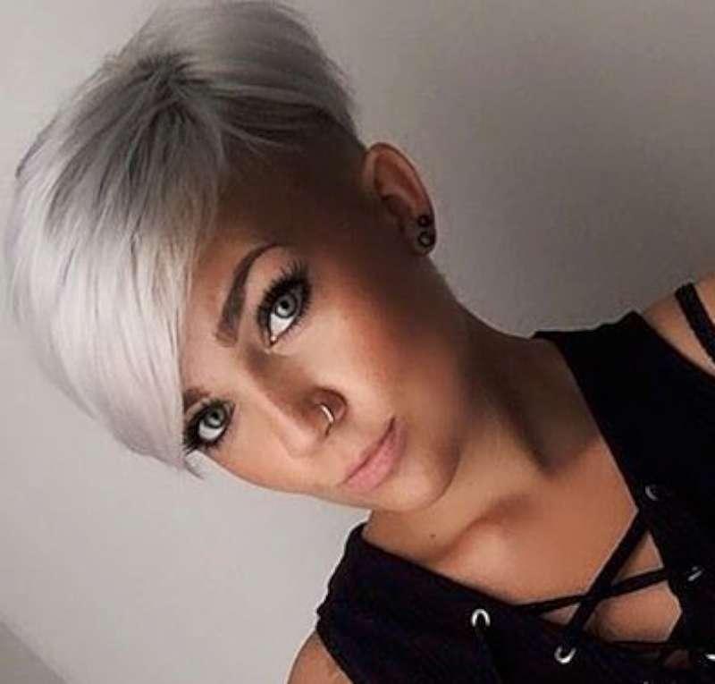 Short Hairstyles Dark Hair 2017 - 9
