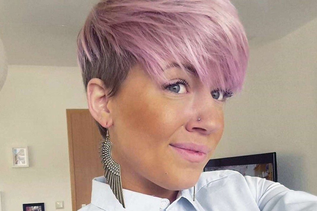 Short Pink Hairstyles 2017