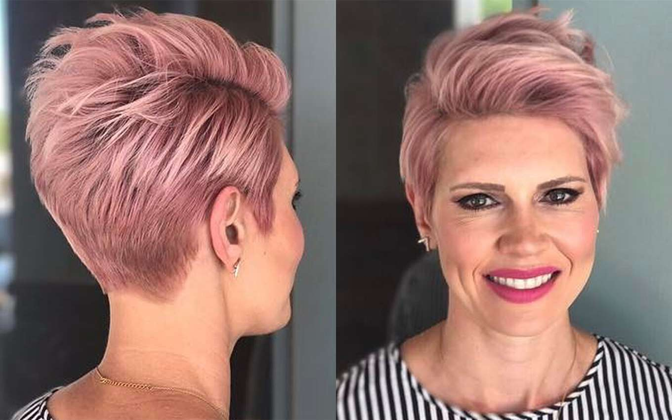 Short Haircuts Pink 2017 | Fashion and Women
