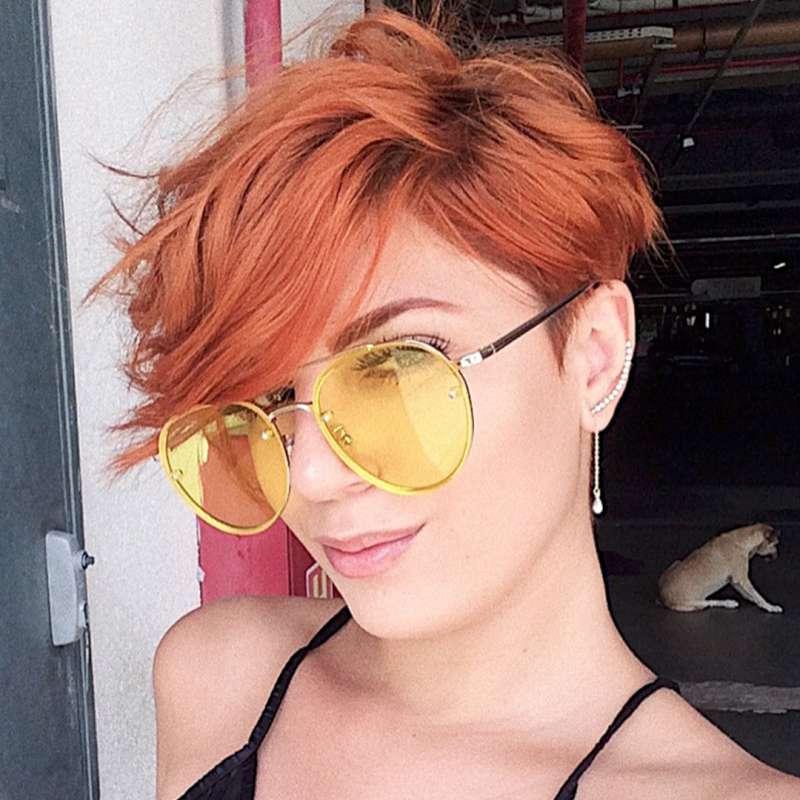 Stefanny Crespo Short Hairstyles - 8