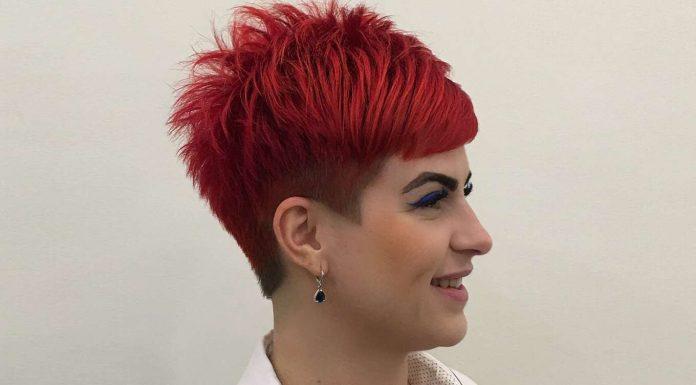 Angelica Grechkina Short Hairstyles