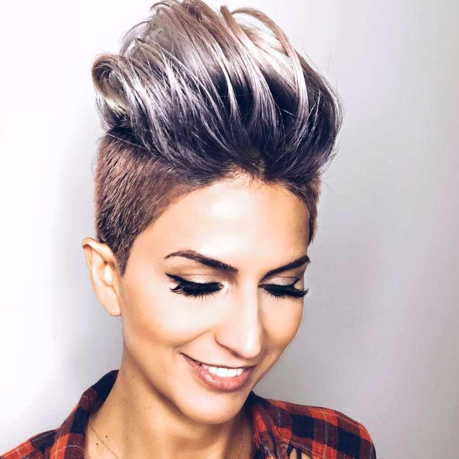 Alineh Avanessian Short Hairstyles Fashion Women